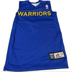 Golden State Warriors Boys Small Jersey Reversible